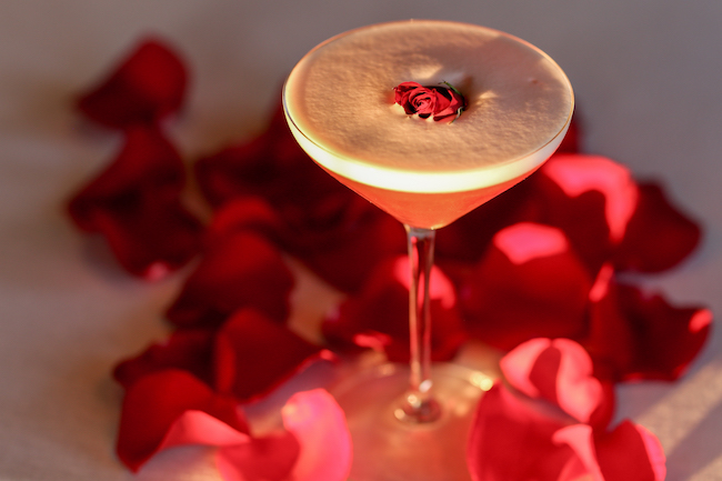 A Rose By Any Name, Valentine's Cocktail