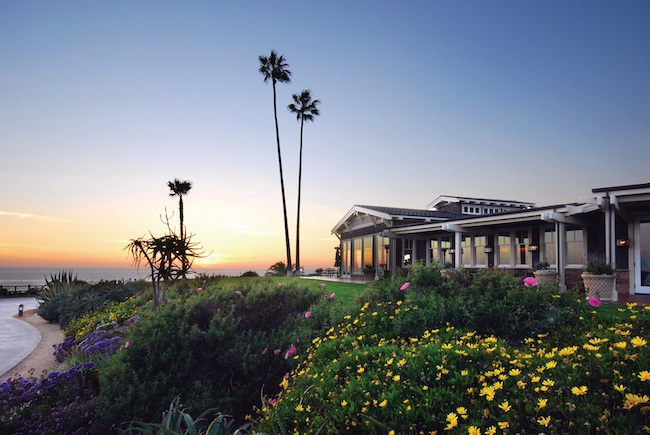 Ocean view dining at Studio at Montage Laguna Beach