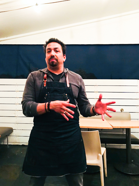 Chef Diego Valesco, Memphis Cafe, Costa Mesa