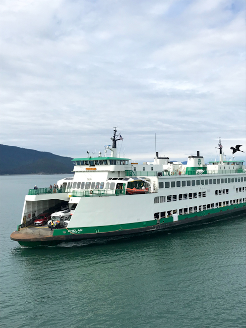 Washington state ferry boat