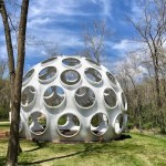 Fly's Eye Dome by Buckminster Fuller, Crystal Bridges Museum of Modern Art