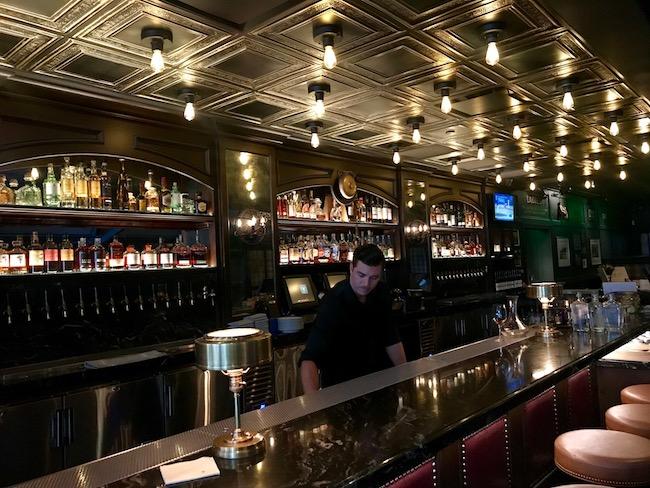 long bar at country club costa mesa