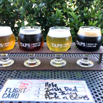 Award-Winning Craft Beers at TAPS Brewery and Barrel Room