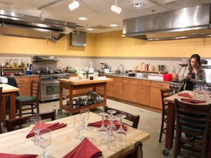 Cook Academy kitchen at The Essex, culinary resort and spa in Burlington, Vermont