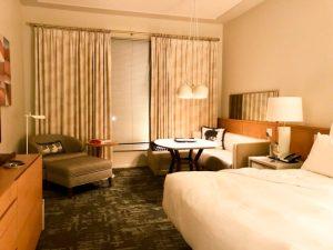 21c Bentonville guest room
