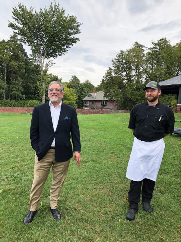 Shelburne Inn Director Ari Sadri and Executive Chef Jim McCarthy