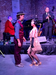 Jazz dancers at the New Orleans Bourbon Festival