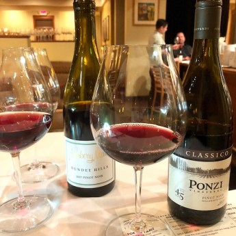 Two Willamette Valley Pinot Noirs