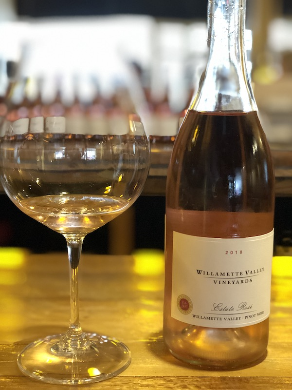 Wine tasting at Willamette Valley Vineyards Tasting Room, McMinnvile. ©P