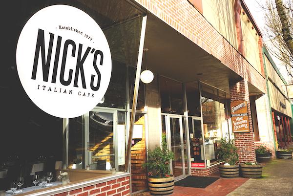 Nick's Italian Cafe, McMinnville, Oregon