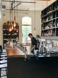 Bar at Red Hills Kitchen, Atticus Hotel, McMinnville, Oregon