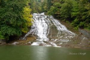 waterfalls in the finger lakes region, Buttermilk Falls