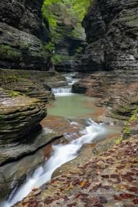 waterfalls in the finger lakes region, Watkins Glen State Park