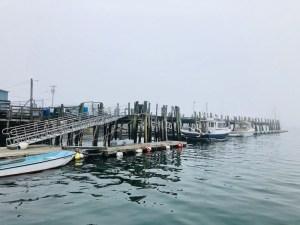Stonington, Maine fishing village
