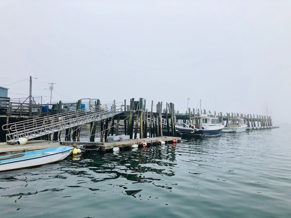 Stonington, Maine fishing village