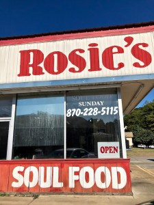 Delta cuisine, soul food, Rosie's Diner