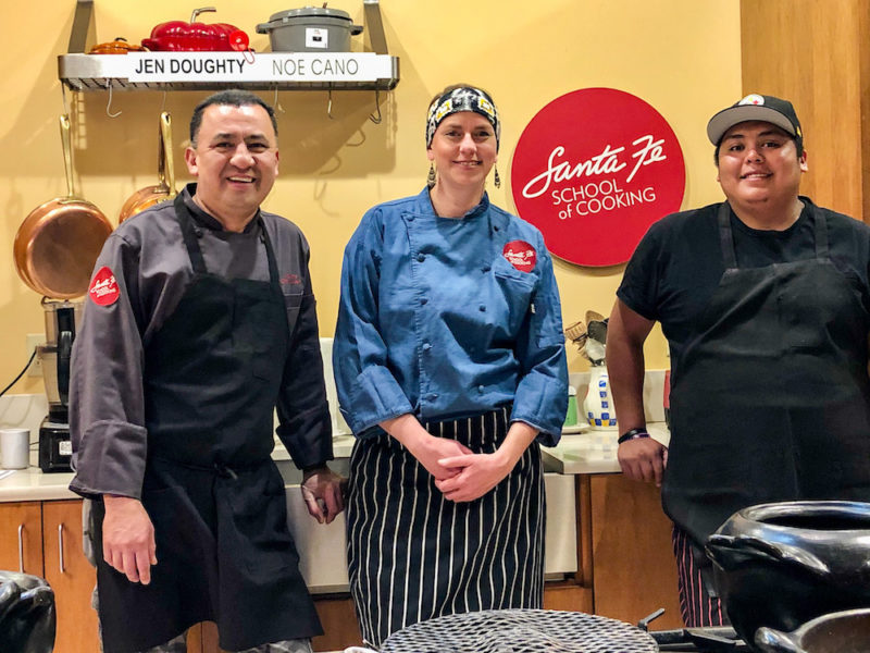 Chefs at Santa Fe School of Cooking