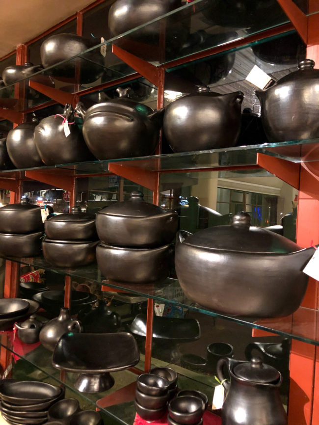 La Chamba Black Pottery cookware
