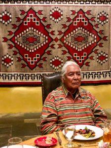 Native American elder Richard Mermejo