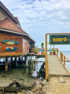 Bibi's restaurant on Isla de Carenero