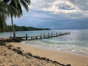 Dock on Bocas del Toro