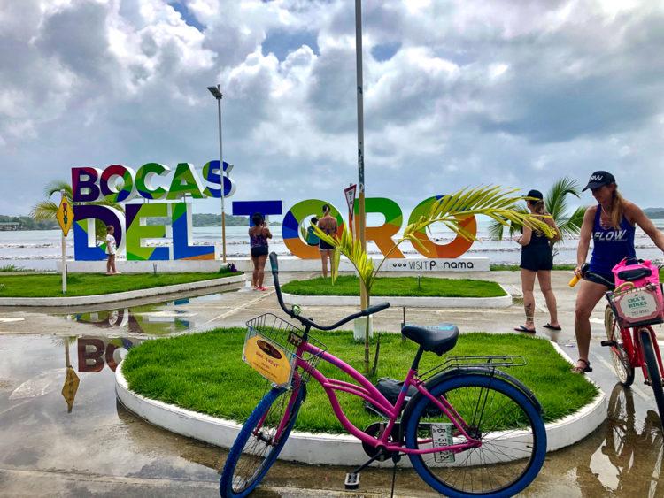Bocas del Toro sign