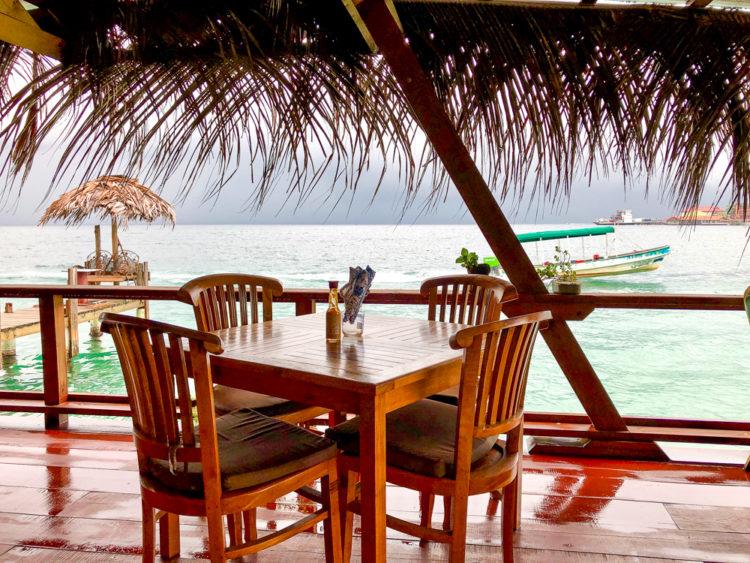 Leaf Eaters restaurant on Isla de Carenero