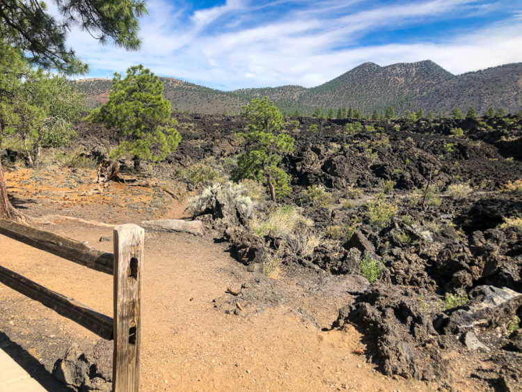 A'a Trail at Sunset Crater