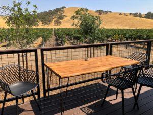 Vineyard views, Geneseo Inn, Paso Robles