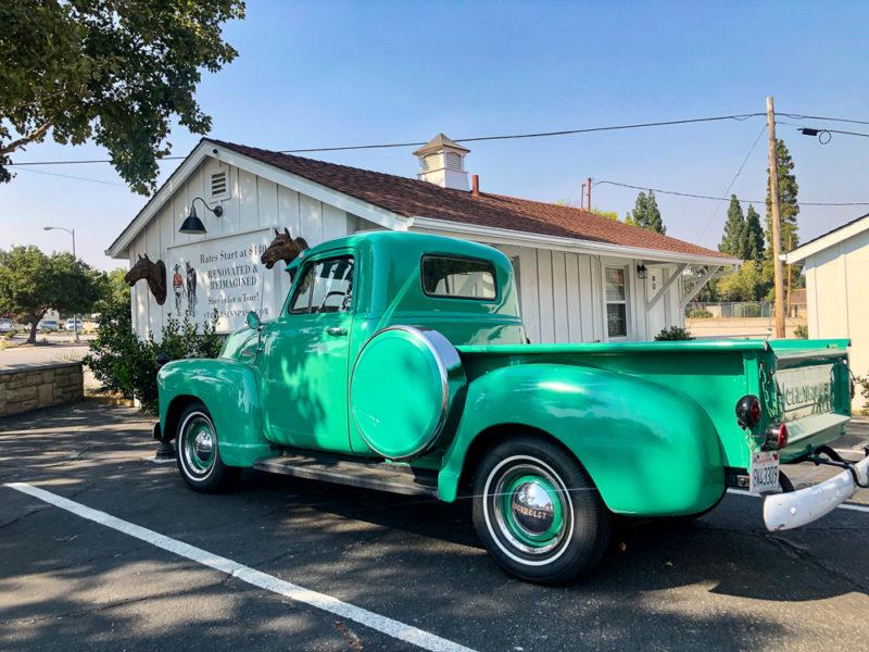 Vintage truck, Central Coast road trip