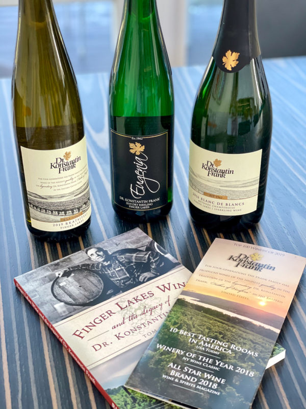 Best wineries in the Finger Lakes - Dr. Konstantin Frank wines