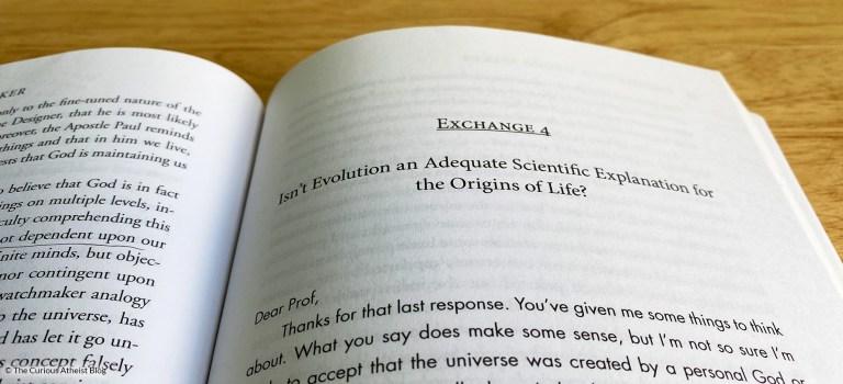 Reading My Professor's Apologetics Book: Part 2