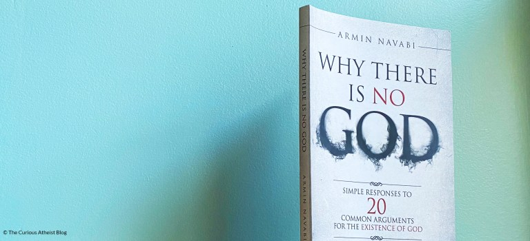 Book Review: Why There Is No God by Armin Navabi