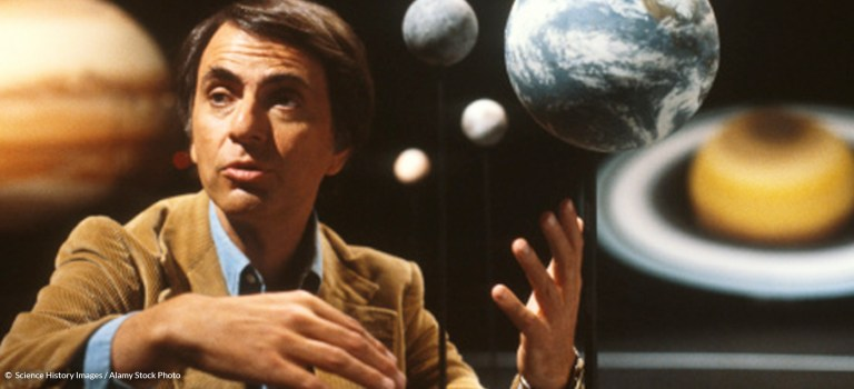 Inaccuracy, Eurocentrism, and Antitheism in Carl Sagan's Cosmos