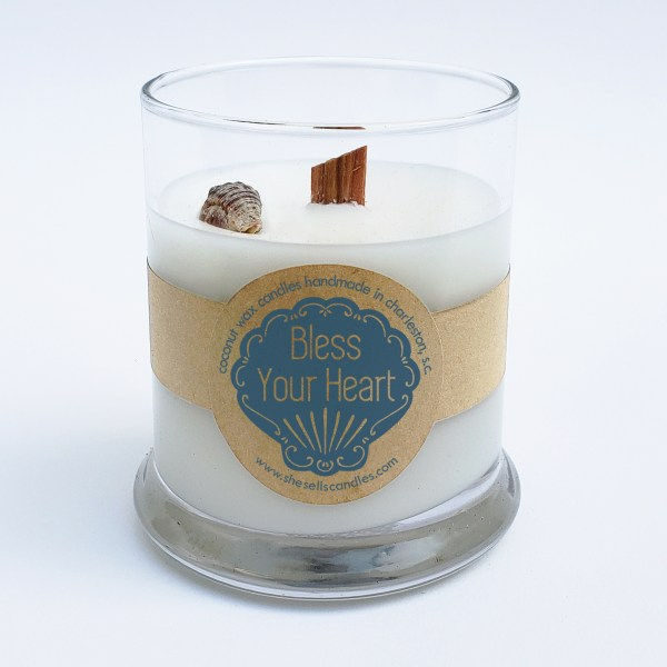 Scented Candle - Lavender & White Sage