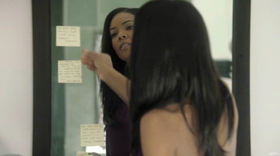 Image result for gabrielle union and sticky notes