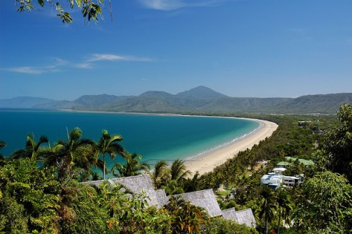 View from the top of Flagstaff Hill in Port Douglas