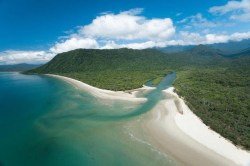 Cape Tribulation from above