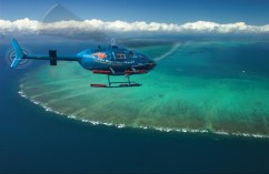 Helicoptering over the reef - fingers crossed this will be us.