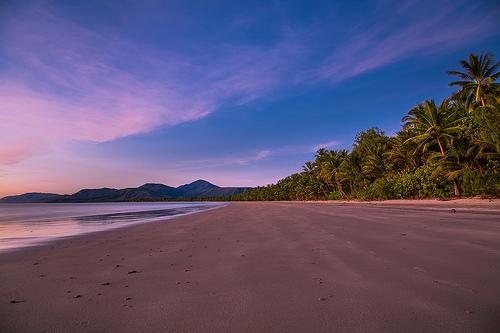 Sunset beach walks will be an everyday occurance