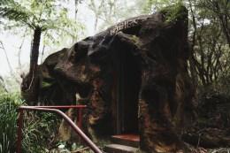 Mountain toilets