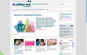 new Healthwatch design