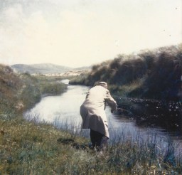Stream from Sheskinmore (view southeast) 1965
