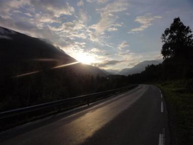 Sunset Above Gerrainger