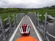 Bridge approcahing Machynlleth
