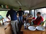 The dinner bus, Llanidloes