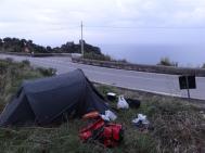 Roadside Camping, Amalfi Coast
