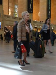 People watching in Grand Central Station