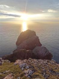 Sunset at Cape Wrath
