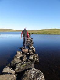 Causeay to a Brock, Eshaness, Shetland